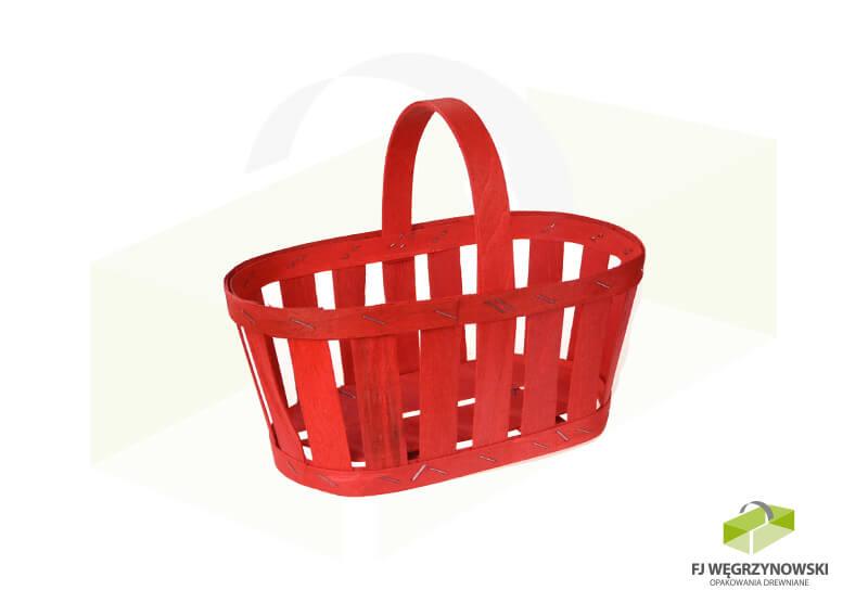 Koszyk 23,5 x 13,5 x 10,5 cm, wysokość całkowita 20 cm, kolor 4