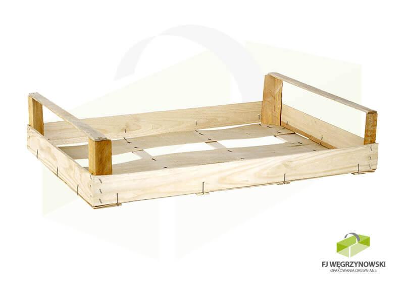Skrzynka drewniana 59,5 x 39,5 x 11,5 cm